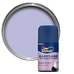 Dulux Easycare Sugared Lilac Matt Emulsion Paint 0.05L