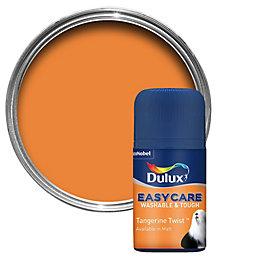 Dulux Easycare Tangerine Twist Matt Emulsion Paint 0.05L