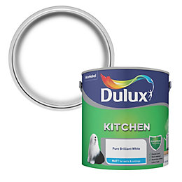 Dulux Brilliant White Matt Emulsion Paint 2.5L