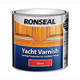 Ronseal Exterior Varnish Gloss Yacht Varnish 1L