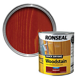 Ronseal Exterior Woodstain Mahogany Woodstain 2.5L