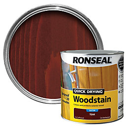 Ronseal Teak Satin Woodstain 2.5L