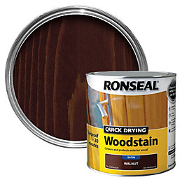 Ronseal Walnut Satin Wood Stain 2.5L
