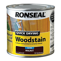 Ronseal Exterior Woodstain Walnut Woodstain 250ml