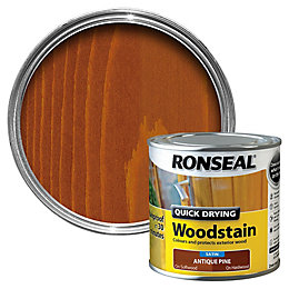Ronseal Antique Pine Satin Wood Stain 250ml