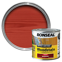 Ronseal Mahogany Gloss Wood Stain 250ml