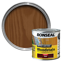 Ronseal Teak Gloss Wood Stain 250ml
