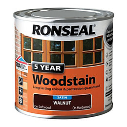 Ronseal Exterior Woodstain Walnut Woodstain 250ml