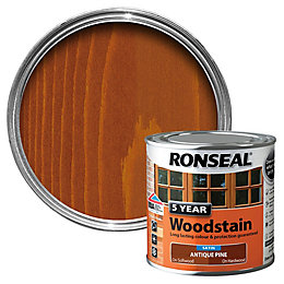 Ronseal Antique Pine High Satin Sheen Woodstain 0.25L