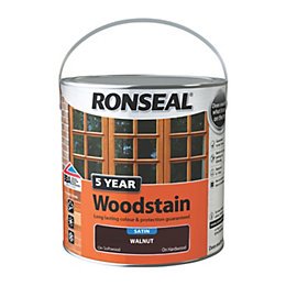 Ronseal Exterior Woodstain Walnut Woodstain 2.5L