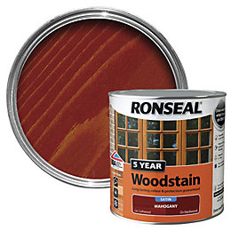 Ronseal Mahogany High Satin Sheen Wood Stain 2.5L