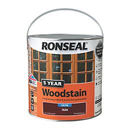 Ronseal Exterior Woodstain Teak Woodstain 2.5L
