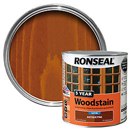 Ronseal Antique Pine High Satin Sheen Woodstain 2.5L