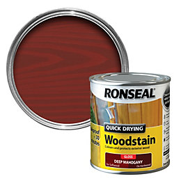 Ronseal Deep Mahogany Gloss Wood Stain 250ml