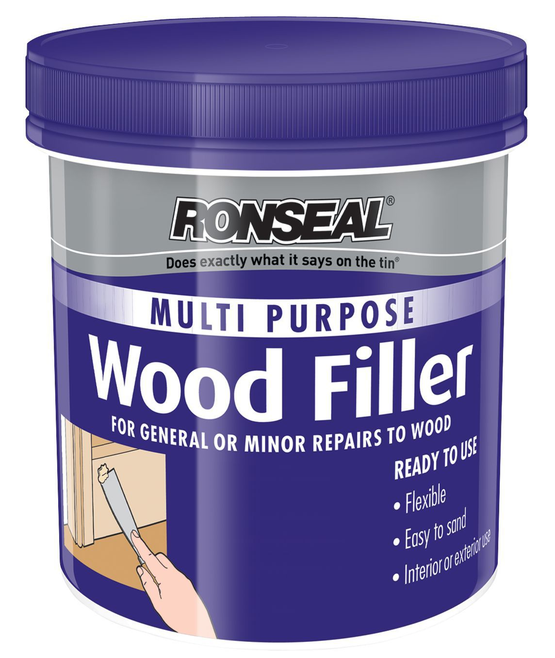 Ronseal Wood Filler 930g Departments Diy At Bq