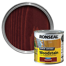 Ronseal Rosewood Satin Wood Stain 250ml