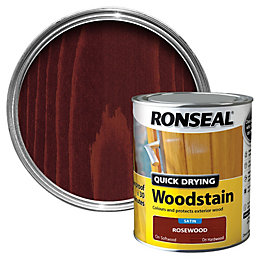 Ronseal Rosewood Satin Wood Stain 750ml
