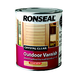 Ronseal Gloss Outdoor Varnish 750ml