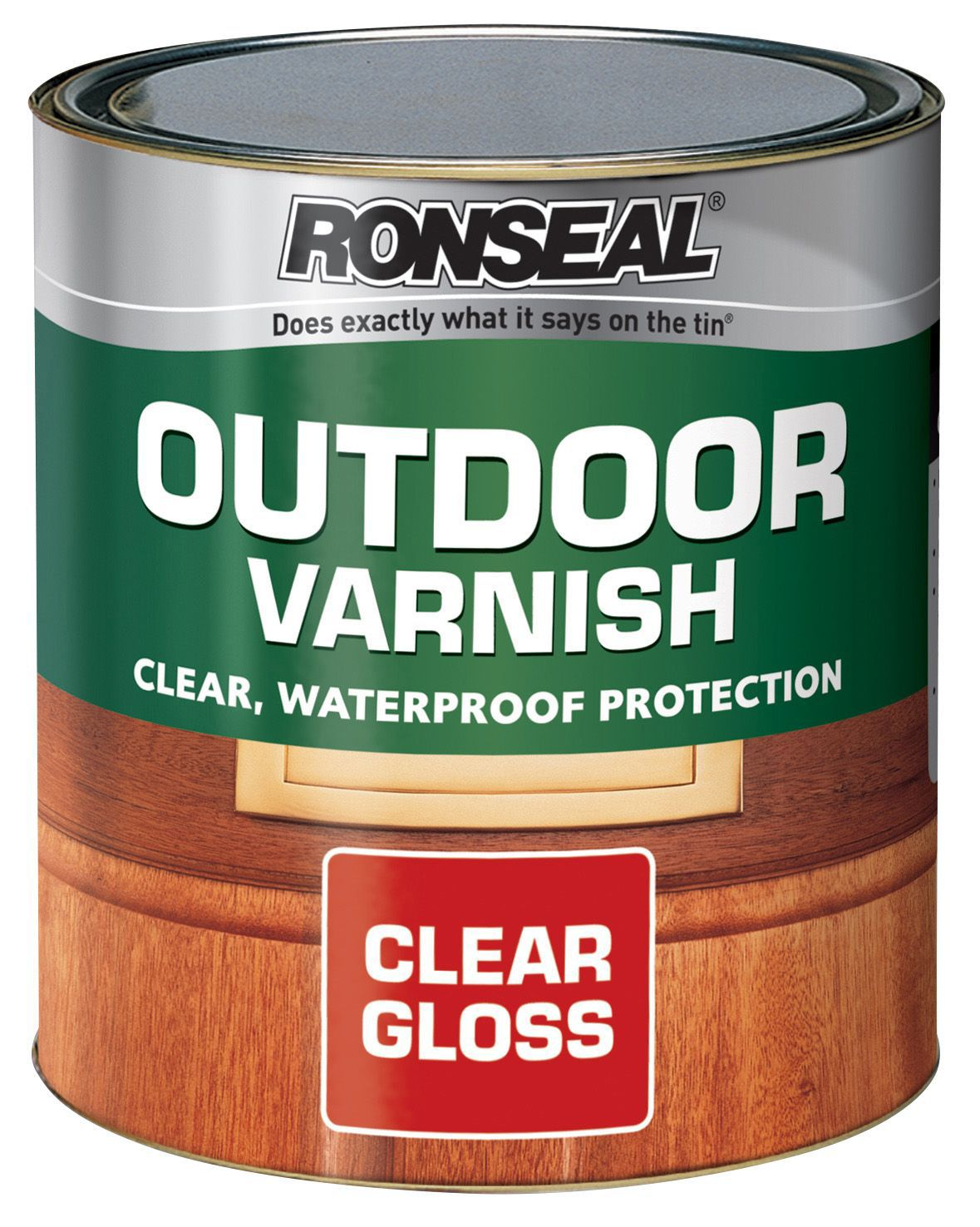 Ronseal Gloss Outdoor Varnish 2500ml Departments Diy At B Q