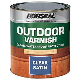 Ronseal Satin Outdoor Varnish 250ml