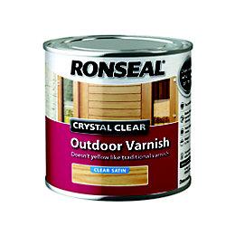 Ronseal Satin Outdoor Varnish 750ml