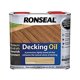 Ronseal Natural Matt Decking Oil 2.5L