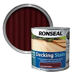 Ronseal Rich Mahogany Matt Decking Stain 2.5L