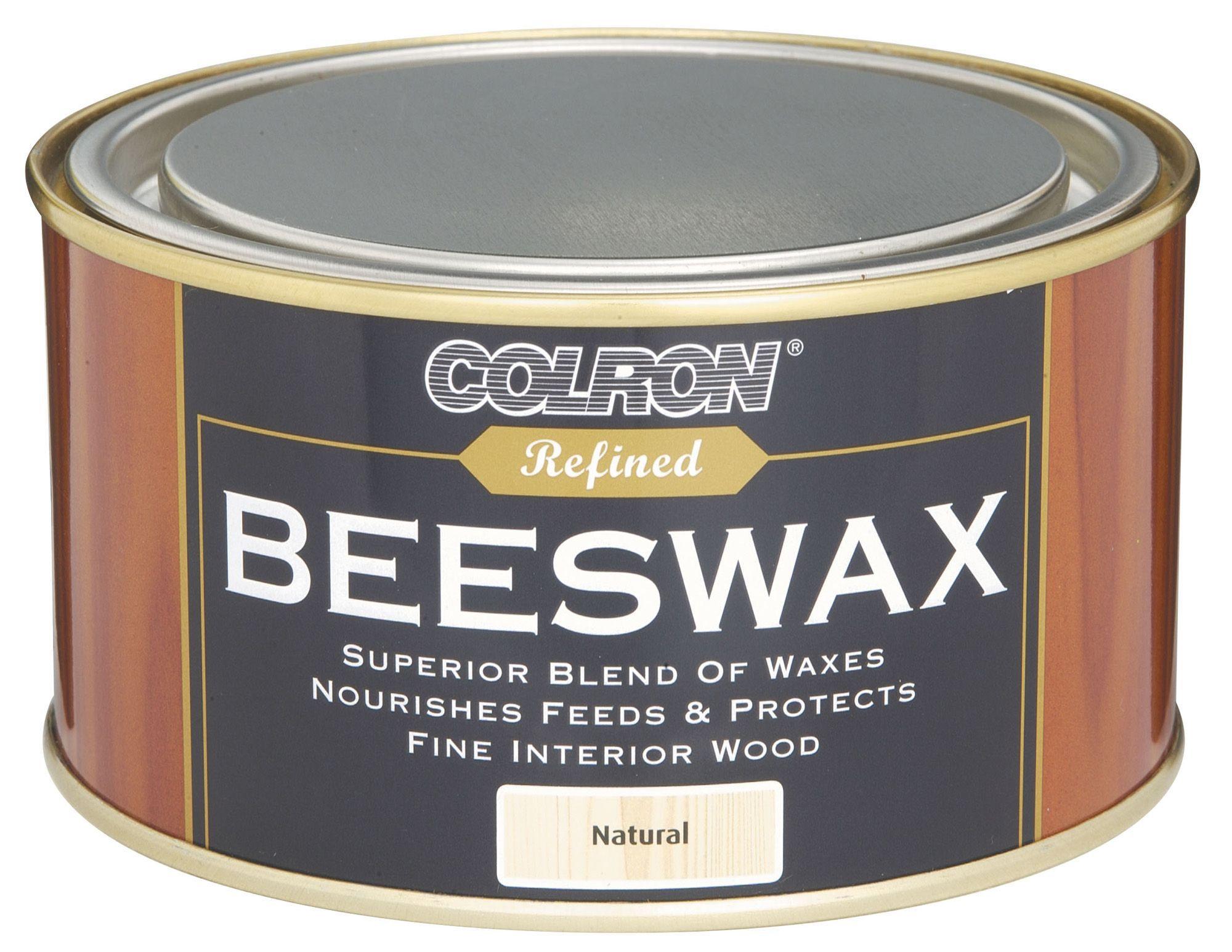Colron Refined Natural Matt Beeswax 0 4l Departments