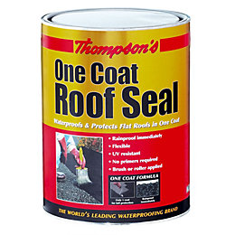 Thompson's Roof Seal Black Roof Sealant 5L
