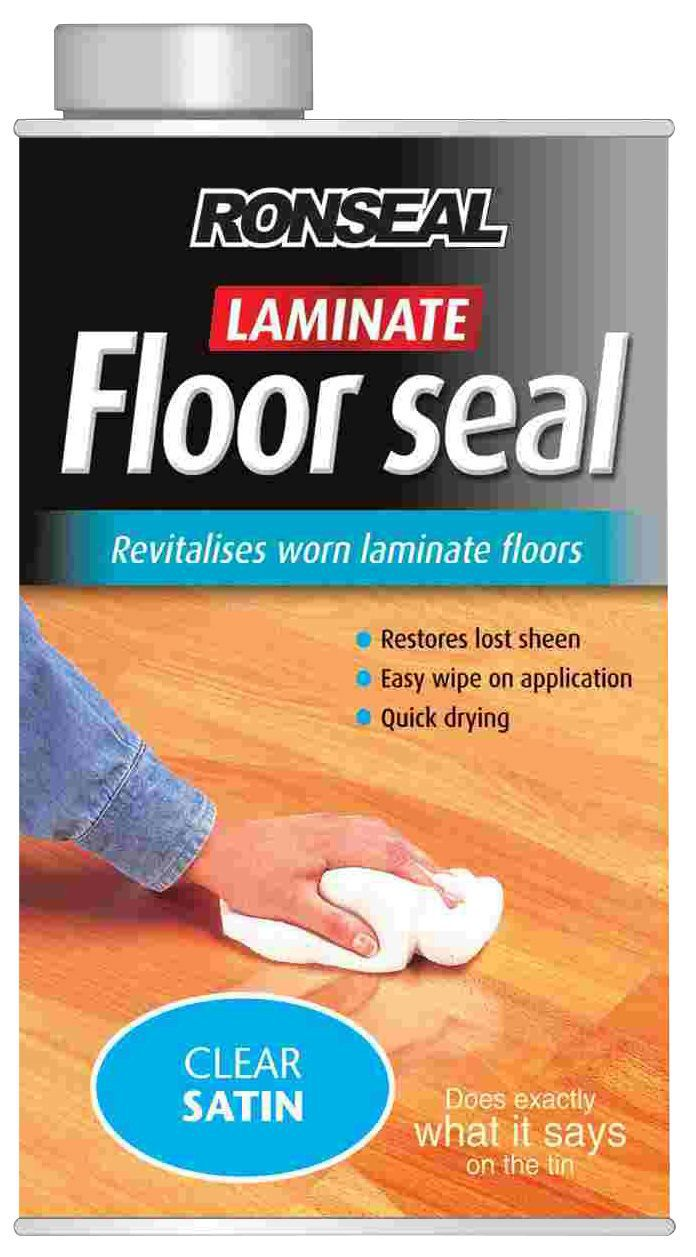 Ronseal Clear Satin Laminate Floor Seal1l Departments