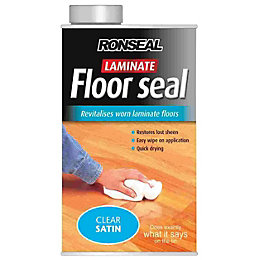 Ronseal Clear Satin Laminate Floor Seal 1L