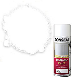 Ronseal White Gloss Radiator Paint 400 ml