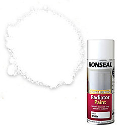 Ronseal White Satin Radiator Paint 400 ml