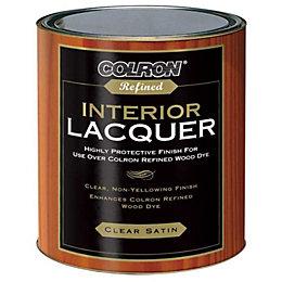 Colron Refined Clear Satin Interior Lacquer 750ml