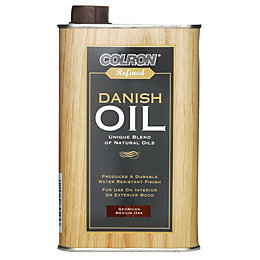 Colron Refined Georgian Medium Oak Danish Oil 0.5L