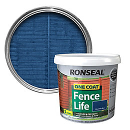 Ronseal Mountain Blue Matt Shed & Fence Stain