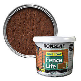 Ronseal One Coat Fence Life Medium Oak Shed