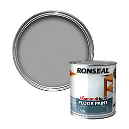 Ronseal Diamond Grey Satin Floor Paint 750ml