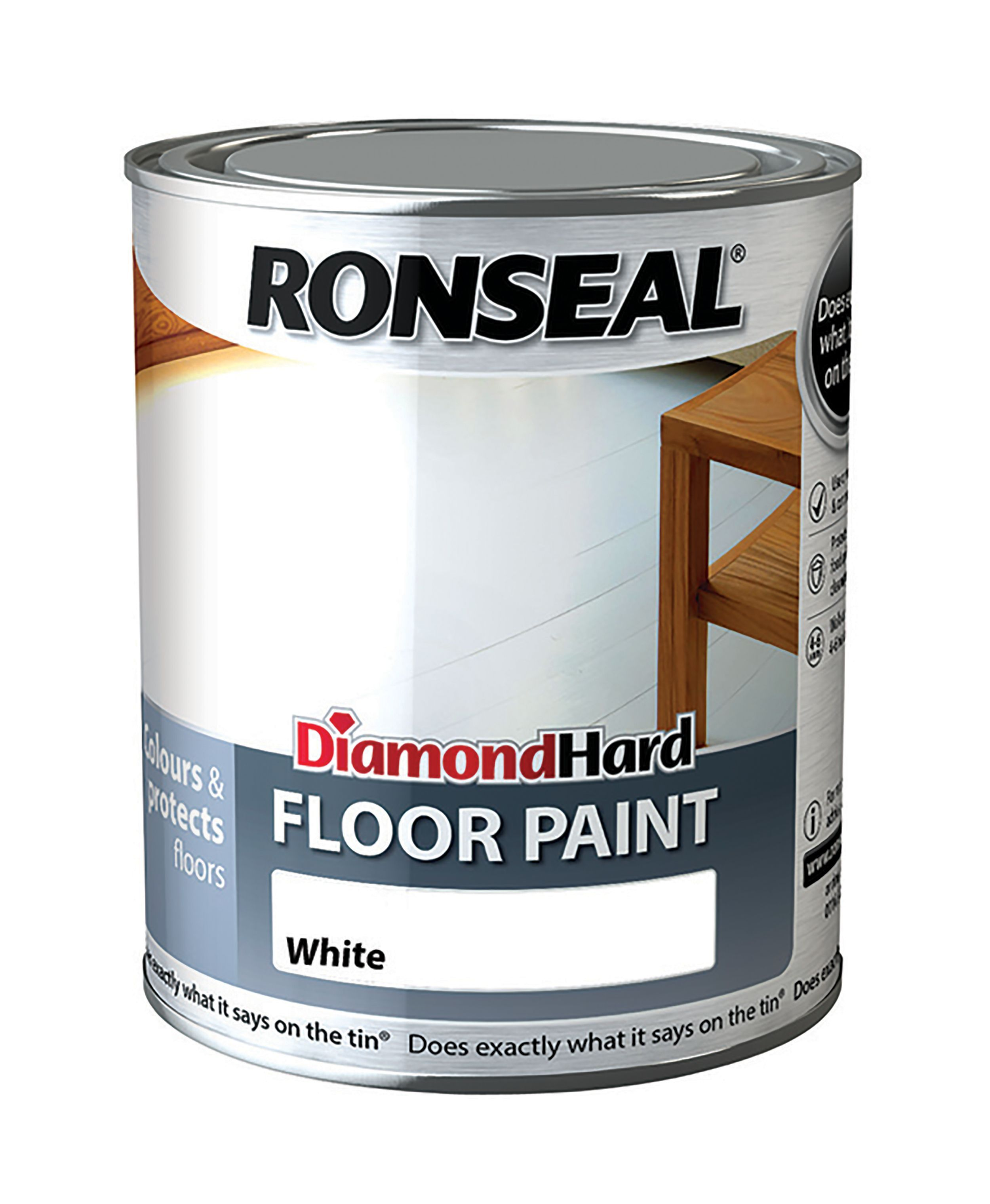 B Q Ronseal Garage Floor Paint