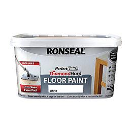 Ronseal Perfect Finish Diamond Hard White Satin Floor