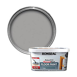 Ronseal Perfect Finish Slate Satin Floor Paint 2.5L