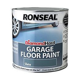 Ronseal Diamond Hard Garage Floor Paint Slate Satin