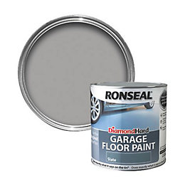 Ronseal Diamond Slate Satin Garage Floor Paint 2.5L