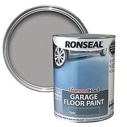 Ronseal Diamond Slate Satin Garage Floor Paint 5L