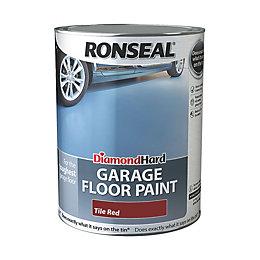 Ronseal Diamond Hard Garage Floor Paint Tile Red