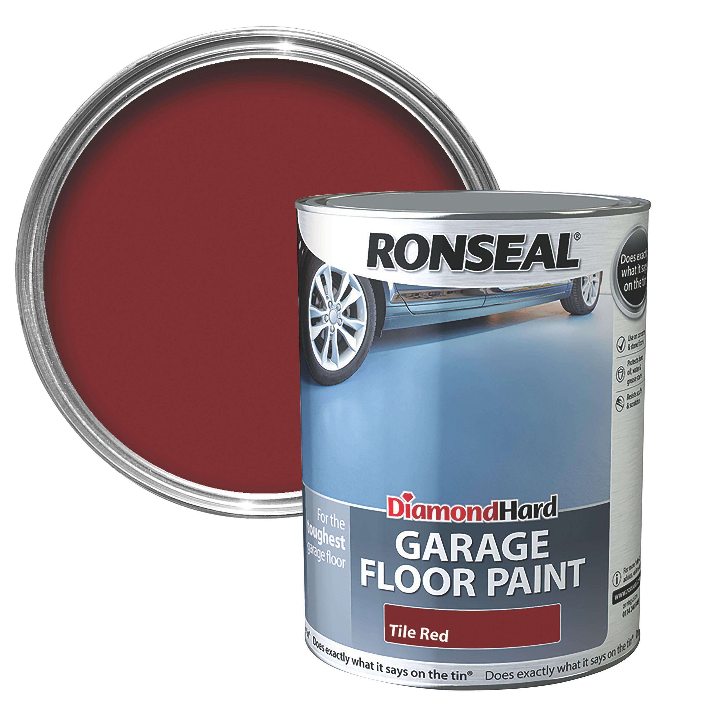 B Q Ronseal Garage Floor Paint