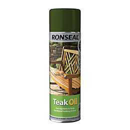 Ronseal Clear Matt Teak Oil 0.5L