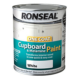 Ronseal Cupboard & Furniture Paint Brilliant White Gloss