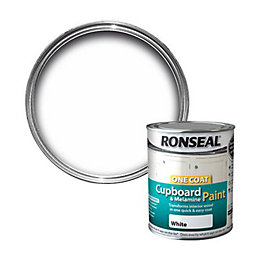 Ronseal Brilliant White Gloss Cupboard Paint 750 ml