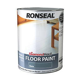 Ronseal Diamond Slate Satin Floor Paint5L